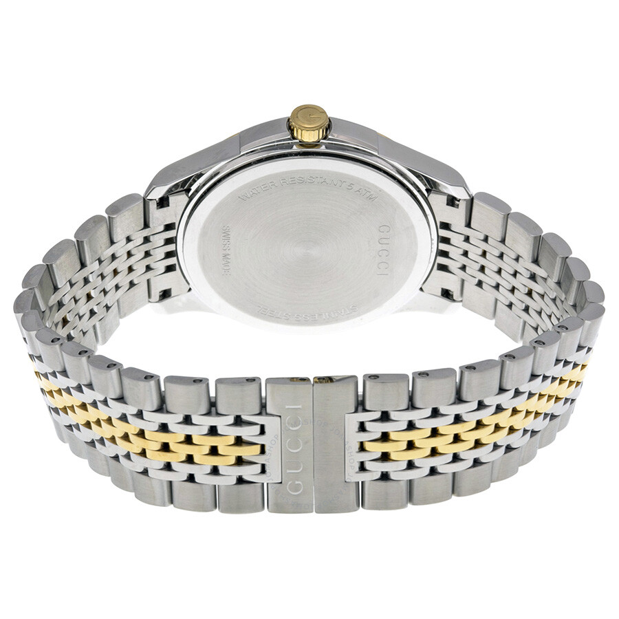 f167a8004ee Gucci G-Timeless Two-tone Stainless Steel Unisex Watch YA126409 - G ...