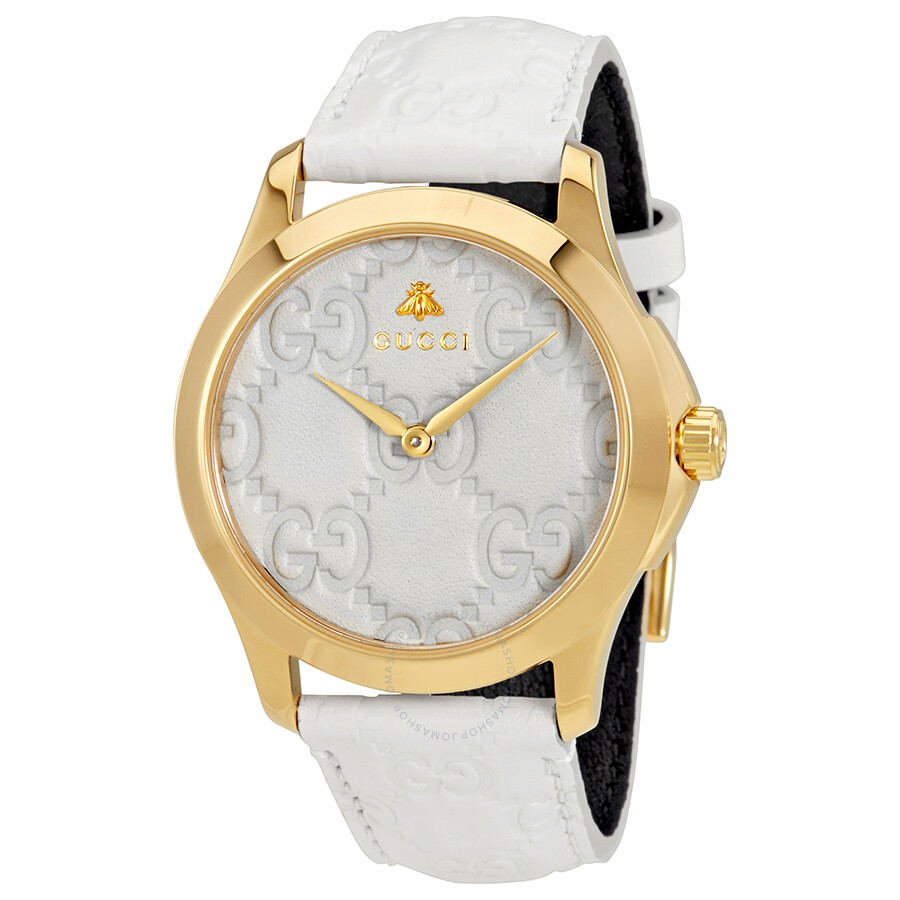 5ed109b81cb Gucci G-Timeless White Dial Men s Watch YA1264033 - G-Timeless ...