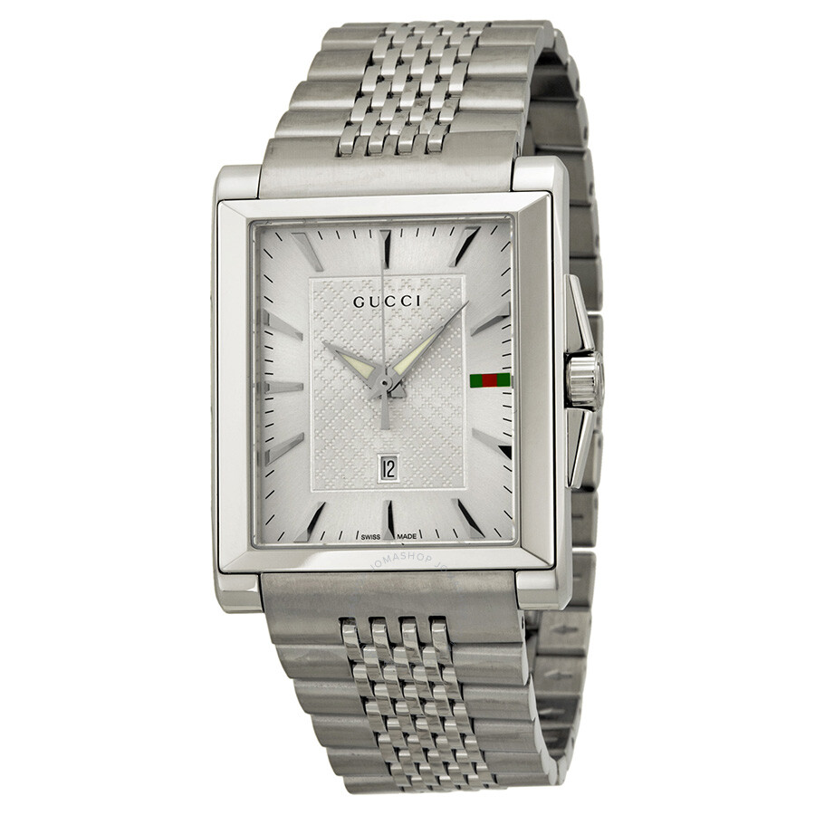 c8a05aa02b5 Gucci G-Timeless Silver Dial Stainless Steel Ladies Watch YA138403 ...