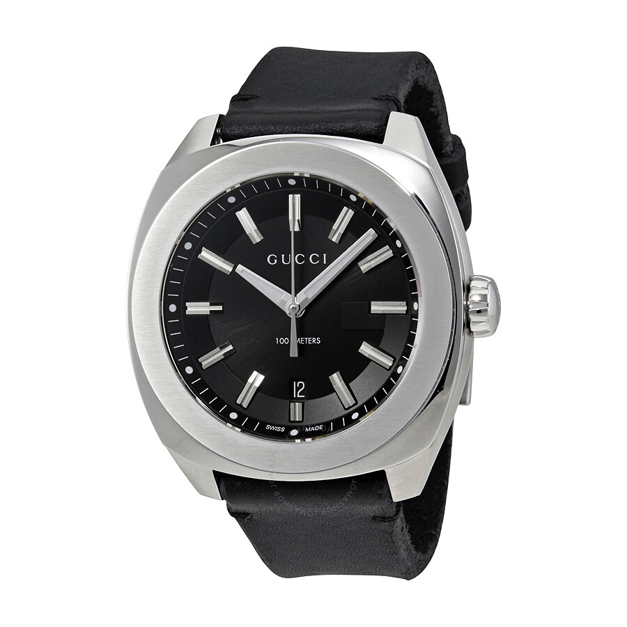 4deff13bda2 Gucci GG2570 Black Dial Men s Watch YA142206 - GG2570 - Gucci ...