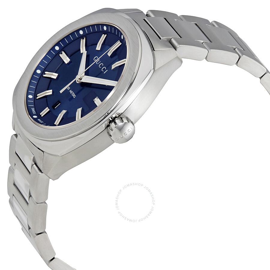 35e330e4c55 Gucci GG2570 Blue Dial Men s Watch YA142303 - GG2570 - Gucci ...