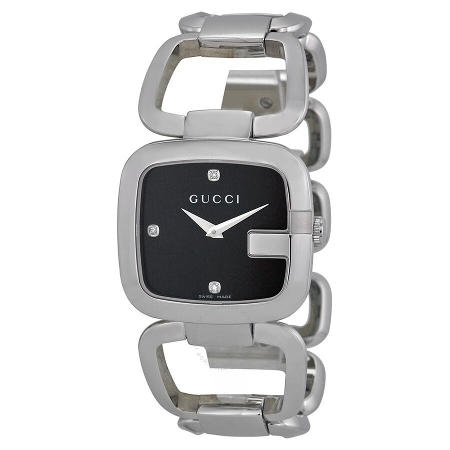275cc755391 Gucci G-Gucci Quartz Stainless Steel Ladies Watch YA125406 - G-Gucci ...