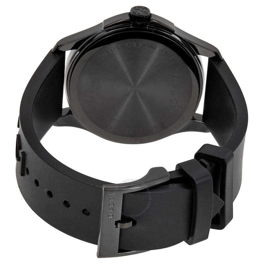 a3f8e8cc964 Gucci Ghost G-Timeless Black Dial Black Rubber Men s Watch YA1264017 ...