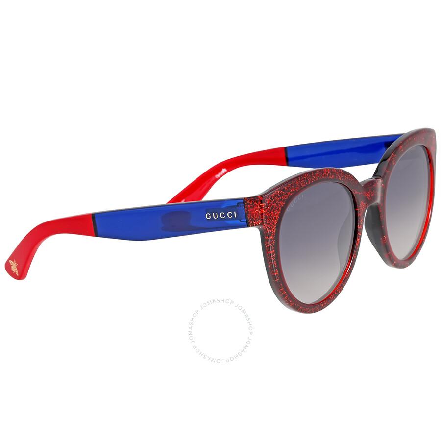 da2c5e4575 Gucci Glitter Gradient Oversized Square Sunglasses - Bitterroot ...