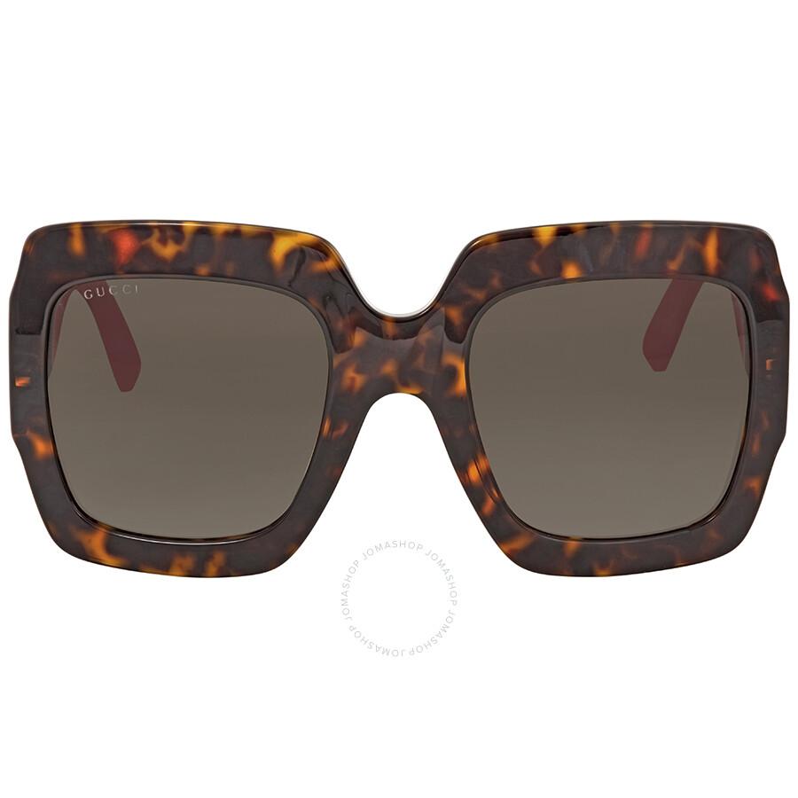 791cf3ae29c1 Gucci Gradient Brown Sunglasses GG0102S 003 54 - Gucci - Sunglasses ...