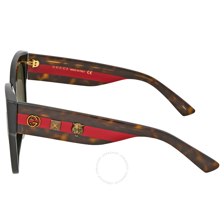 Gucci Green Gradient Cat Eye Sunglasses - Gucci - Sunglasses - Jomashop 01db939cb4a5