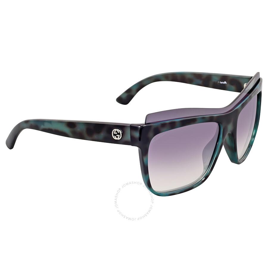 f3b2fe5c0f Gucci Green Havana Mirror Sunglasses Gucci Green Havana Mirror Sunglasses  ...
