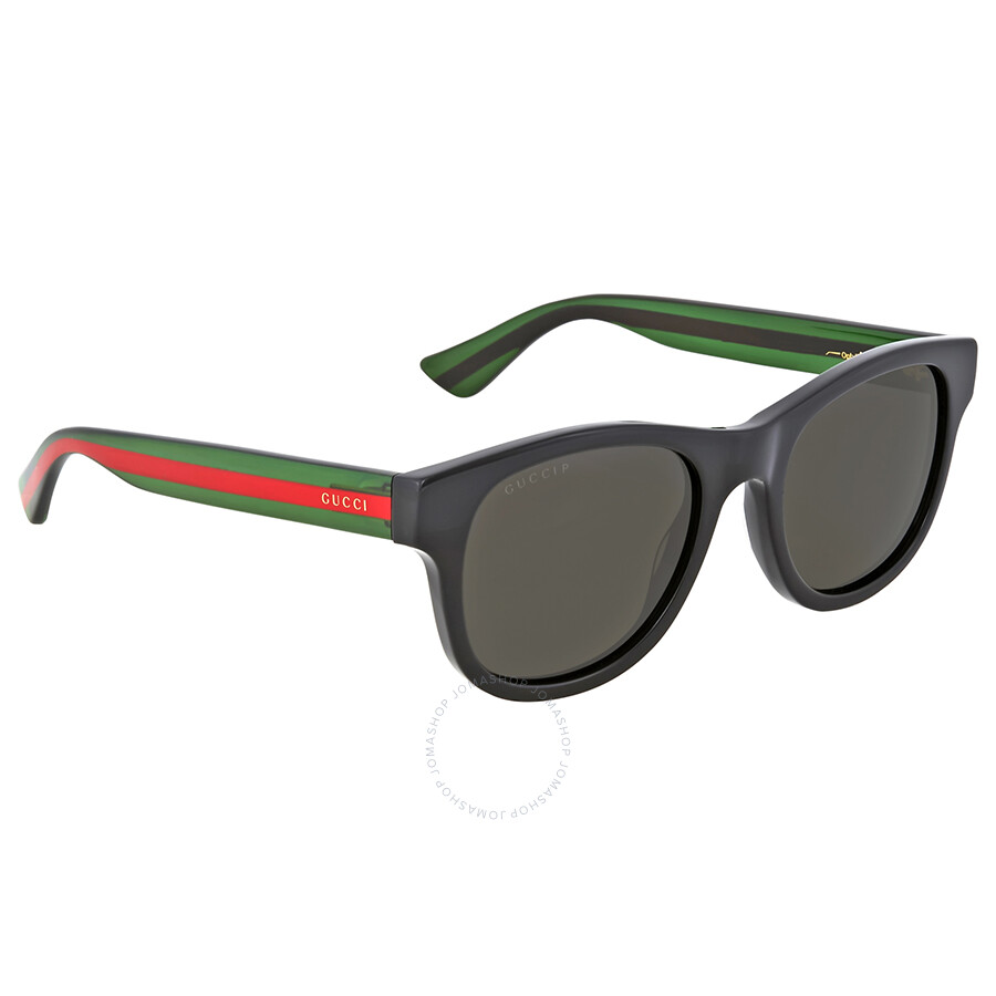 aa730b387802 Gucci Green Polarized Square Sunglasses - Gucci - Sunglasses - Jomashop