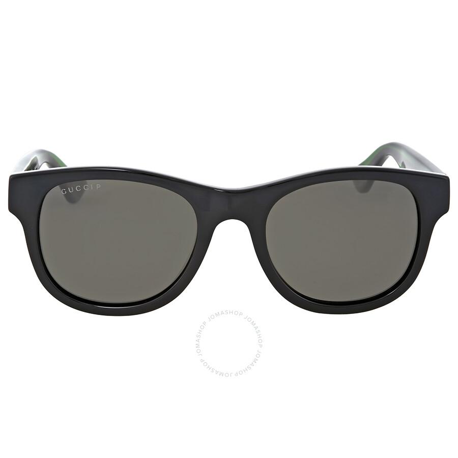 216a995bd5 Gucci Green Polarized Square Sunglasses Gucci Green Polarized Square  Sunglasses ...