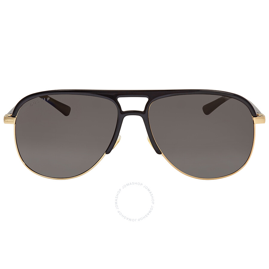 5b09508228 Gucci Grey Aviator Sunglasses GG0292S-002 60 - Gucci - Sunglasses ...