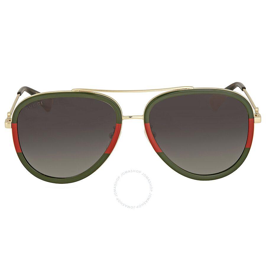 1cd95196bb9 Gucci Grey Gradient Aviator Sunglasses Gucci Grey Gradient Aviator  Sunglasses ...