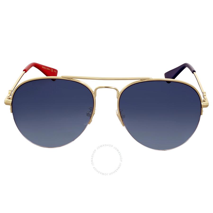 5a33e7f1c2 Gucci Grey Gradient Aviator Sunglasses Gucci Grey Gradient Aviator  Sunglasses ...