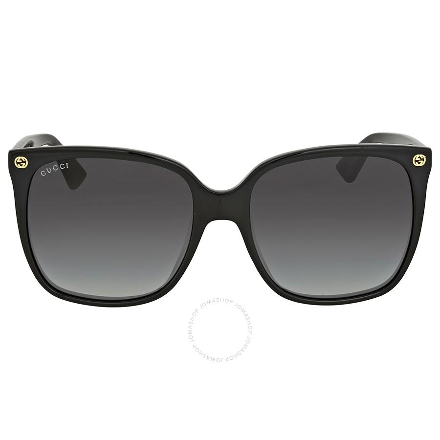 27559f9af69 Gucci Grey Gradient Cat Eye Sunglasses Gucci Grey Gradient Cat Eye  Sunglasses ...