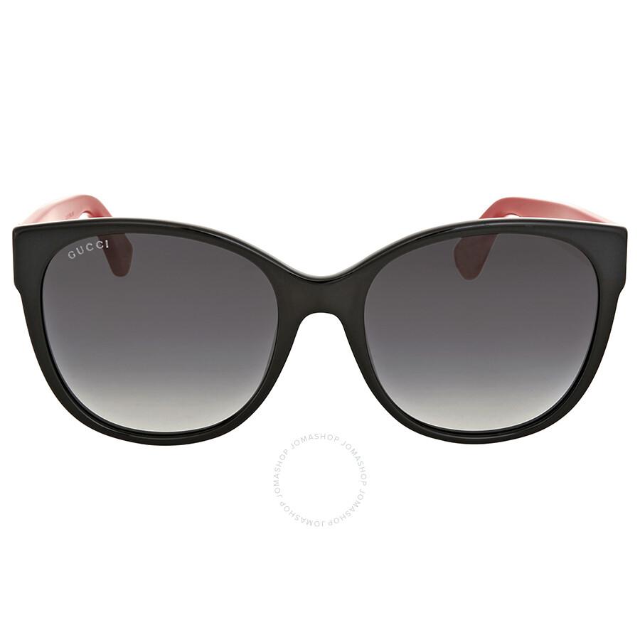 27590d15d95f Gucci Grey Gradient Cat Eye Sunglasses - Gucci - Sunglasses - Jomashop