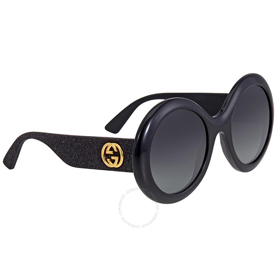 d4788ffa772 Gucci Grey Gradient Round Sunglasses - Gucci - Sunglasses - Jomashop