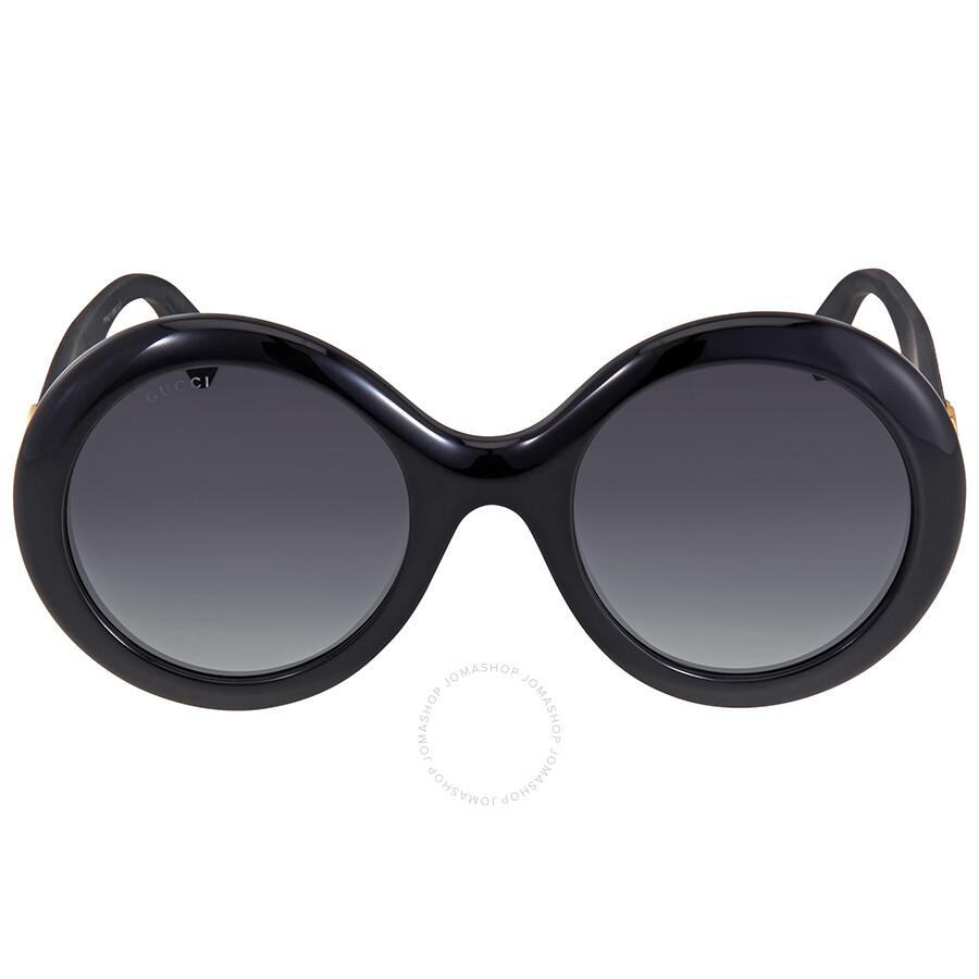 38a271132 Gucci Grey Gradient Round Sunglasses Gucci Grey Gradient Round Sunglasses  ...