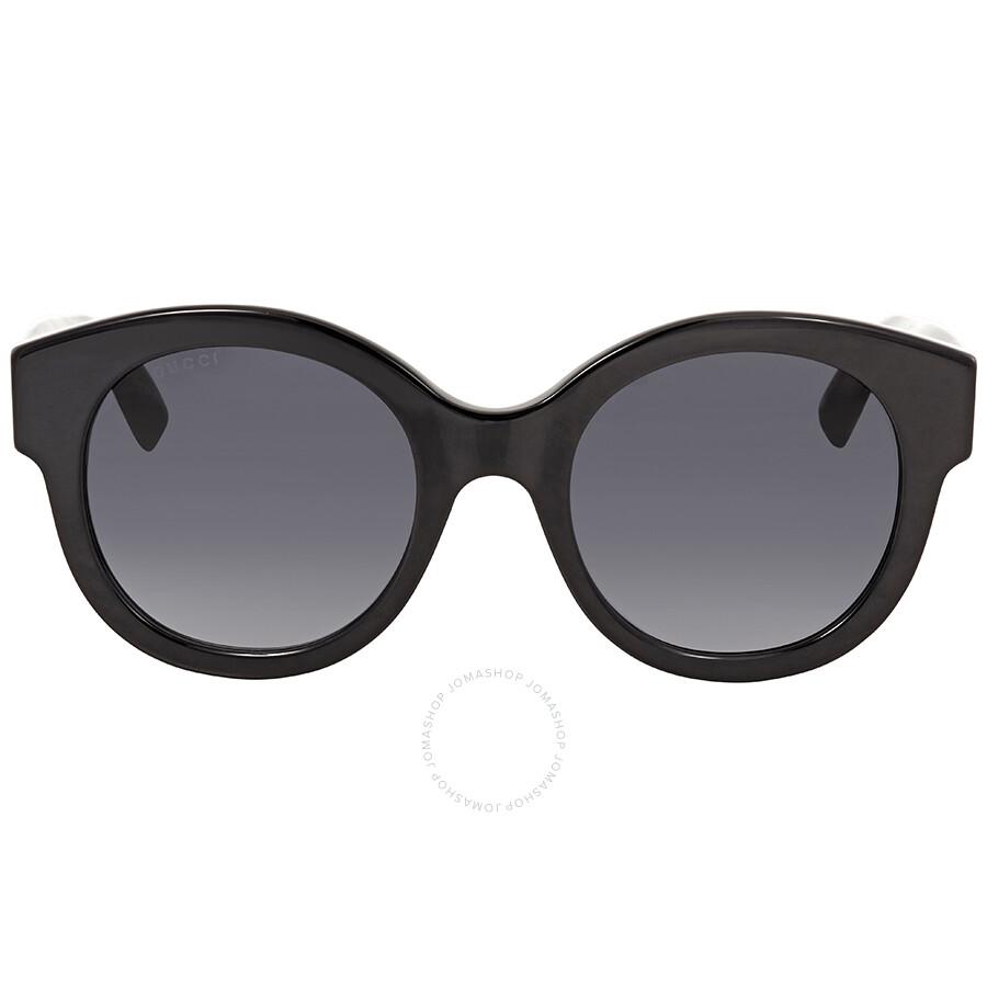 7d1251c49e2 Gucci Grey Gradient Round Sunglasses GG0207S 001 51 - Gucci ...