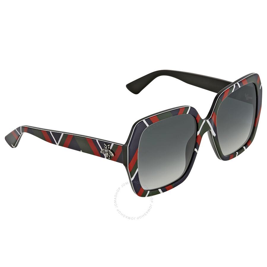 2e86a0f0944 Gucci Grey Gradient Square Sunglasses - Gucci - Sunglasses - Jomashop