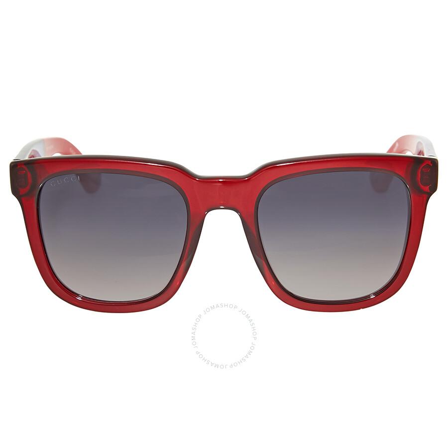 2b2c7e05d9fdd Gucci Grey Gradient Square Sunglasses - Gucci - Sunglasses - Jomashop