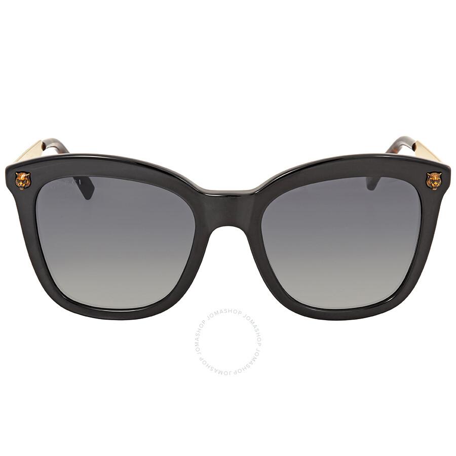 f527df5a23a Gucci Grey Gradient Square Sunglasses GG0217S 001 52 - Gucci ...