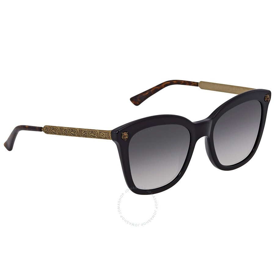 212c81b6e4f Gucci Grey Gradient Square Sunglasses GG0217S 006 52 - Gucci ...