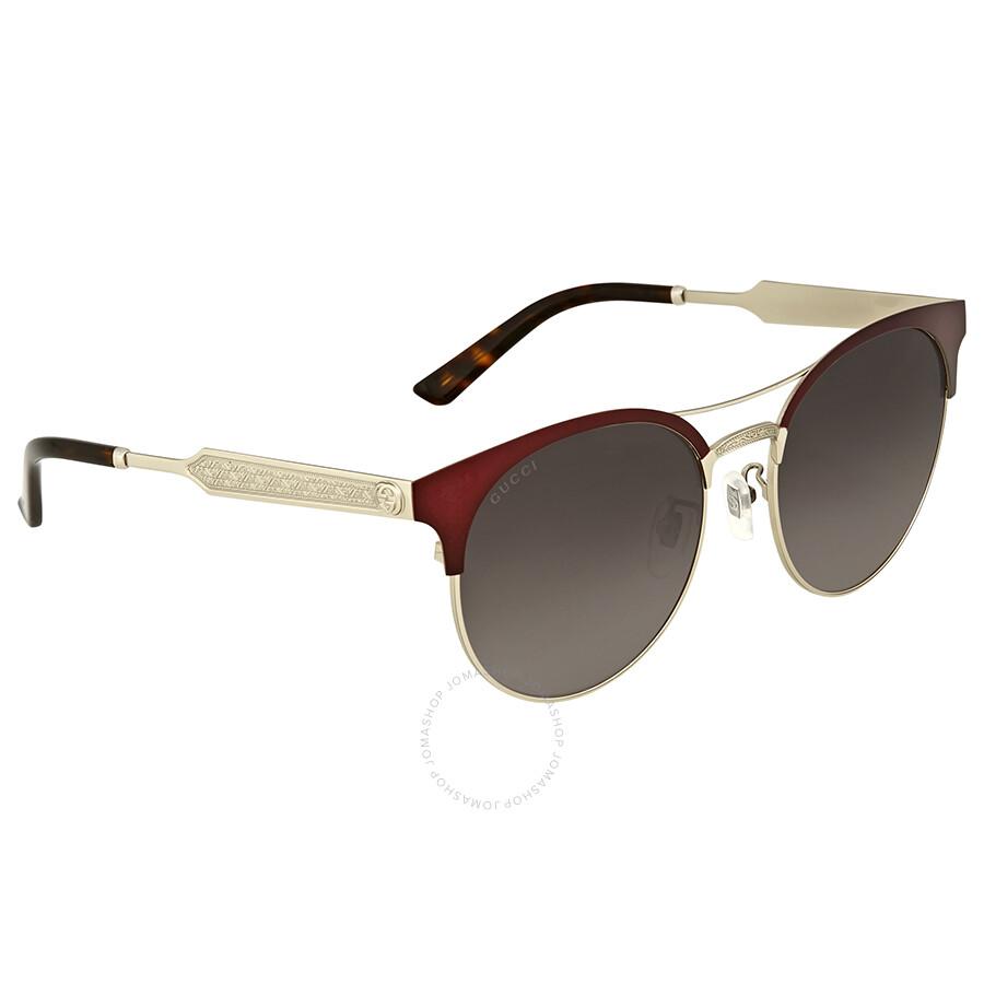 79bbe580610e1 Gucci Grey Gradient Sunglasses - Gucci - Sunglasses - Jomashop