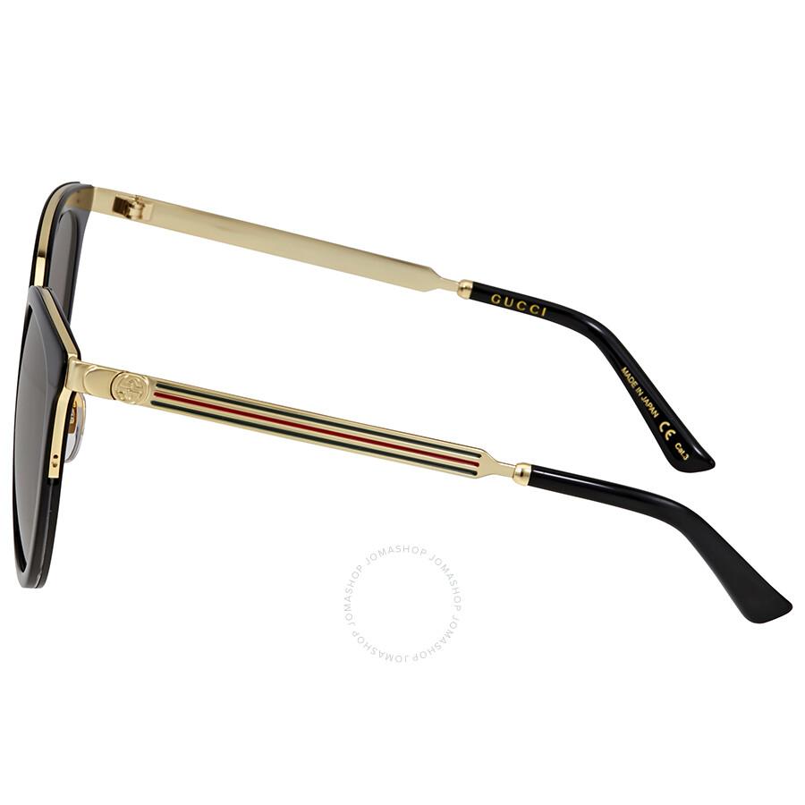 b463d283095d7 Gucci Grey Gradient Sunglasses - Gucci - Sunglasses - Jomashop