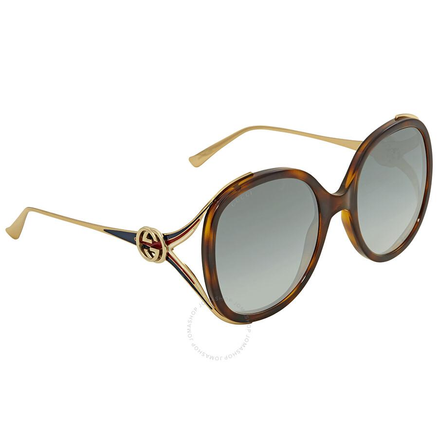 65ff4cbe06 Gucci Grey Gradient Sunglasses GG0226SK 004 60 - Gucci - Sunglasses ...