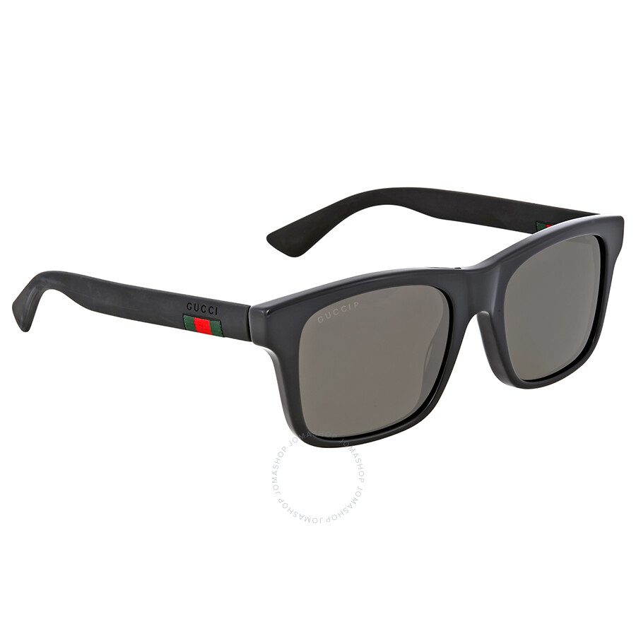 2c31432d48 Gucci Grey Polarized Acetate Sunglasses - Gucci - Sunglasses - Jomashop