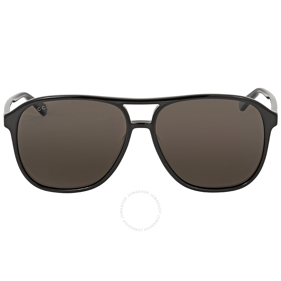 350d7cd0dc Gucci Grey Polarized Aviator Men s Sunglasses GG0016S-006 Item No. GG0016S- 006 58