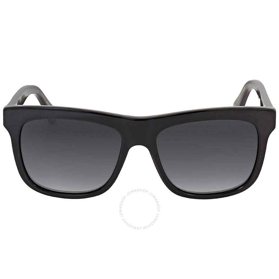 32f532cbcd Gucci Grey Rectangular Sunglasses GG0158S 001 54 - Gucci ...