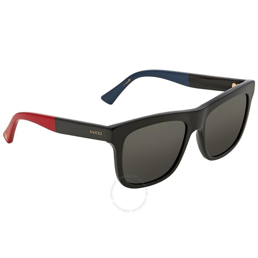 874827927b Gucci Grey Rectangular Sunglasses GG0158S 003 54 Gucci Grey Rectangular  Sunglasses GG0158S 003 54 ...