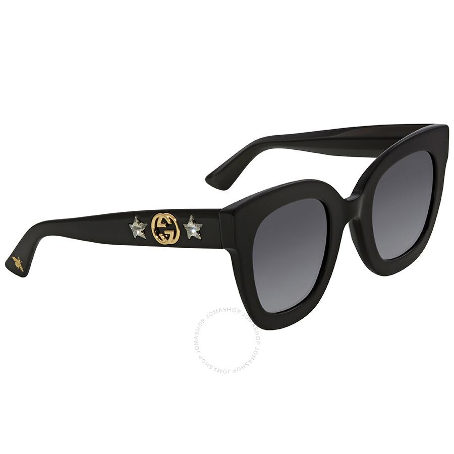 7544eb0f229 Gucci Grey Square Sunglasses GG0208S 001 49 - Gucci - Sunglasses ...