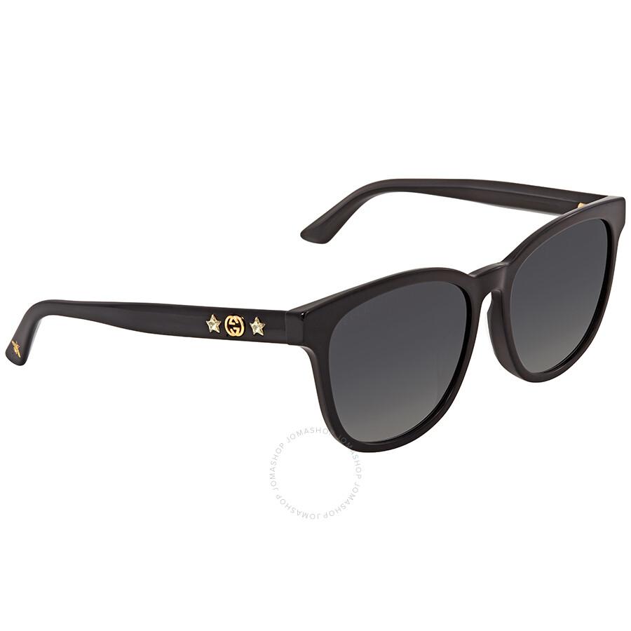 51b79041cb1 Gucci Grey Square Sunglasses GG0232SK 001 56 - Gucci - Sunglasses ...