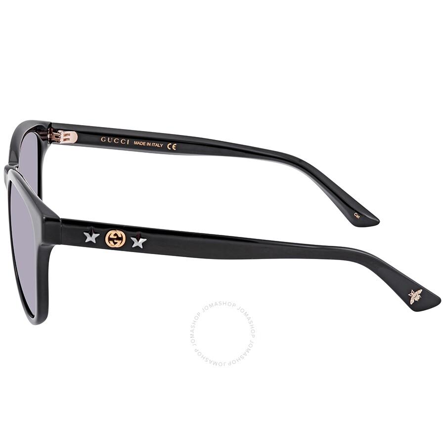 3e5cbc59182 Gucci Grey Square Sunglasses GG0232SK 002 56 - Gucci - Sunglasses ...