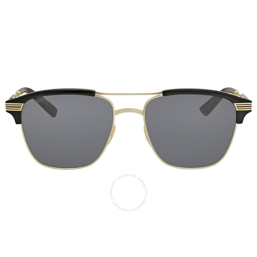 b0aff64000c Gucci Grey Square Sunglasses GG0241S 002 54 - Gucci - Sunglasses ...