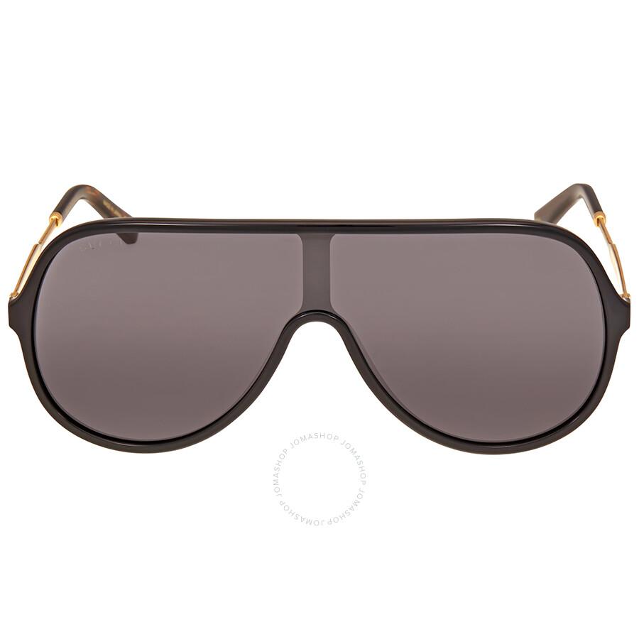 61a7baf112 Gucci Grey Sunglasses GG0199S 001 99 - Gucci - Sunglasses - Jomashop
