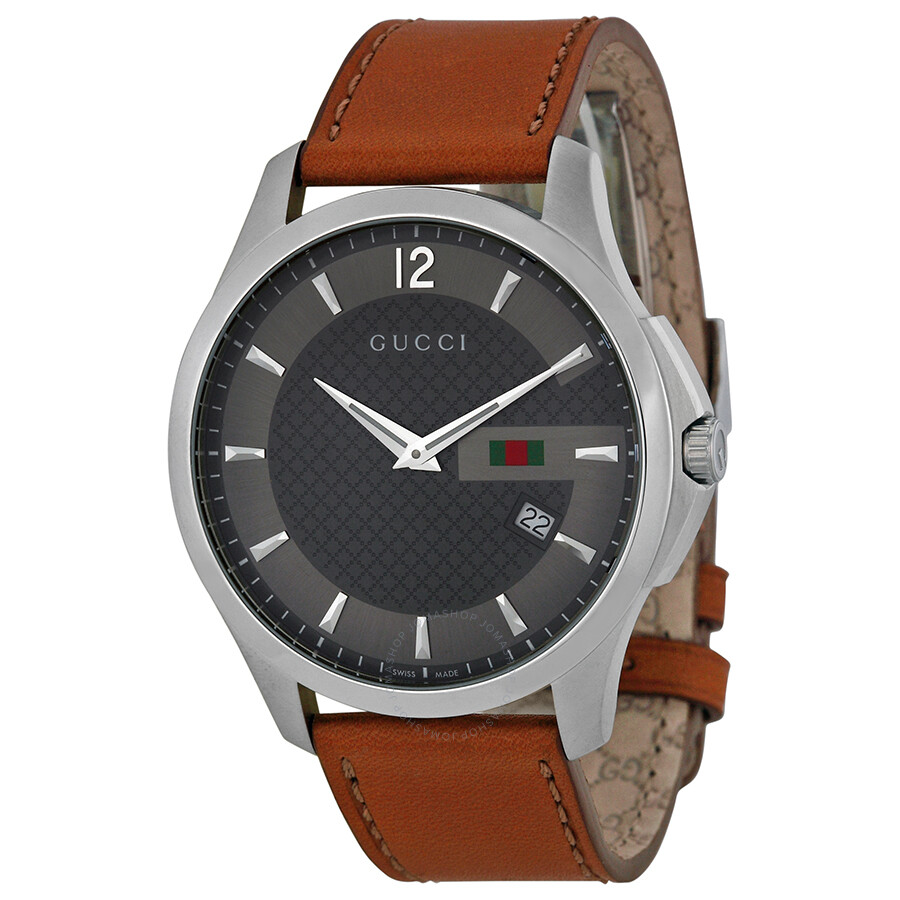 gucci g timeless anthracite leather s