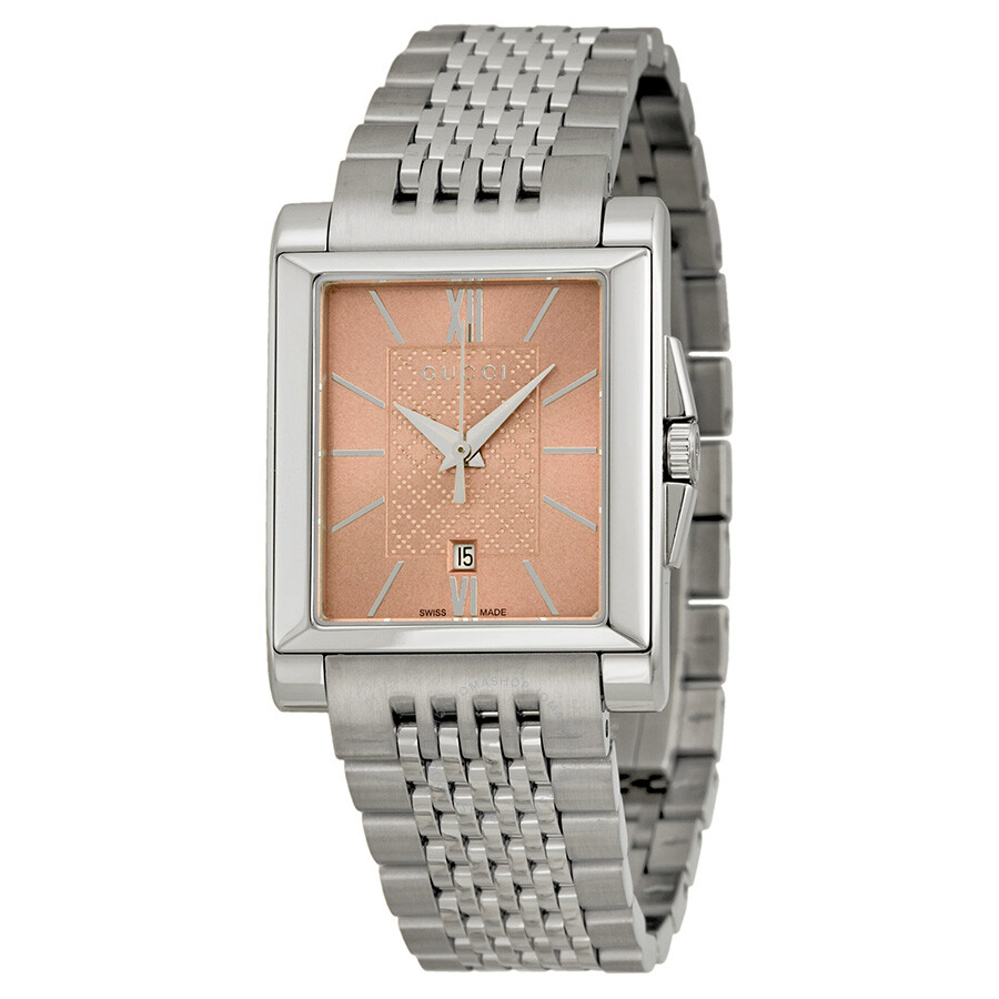c613a02ccba Gucci G-Timeless Pink Dial Stainless Steel Men s Watch YA138502 - G ...