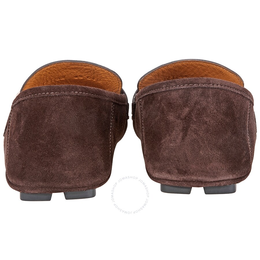 ad80dd7b327 Gucci Gucci Men s Noel Drivers Loafers- Brown  7 - Shoes - Fashion ...