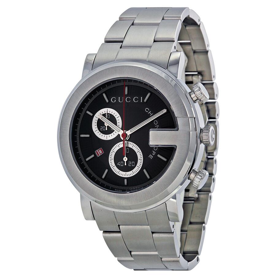 4a7f23d6131 Gucci G-Watch 101G Steel Chronograph Men s Watch YA101309 - G-Round ...