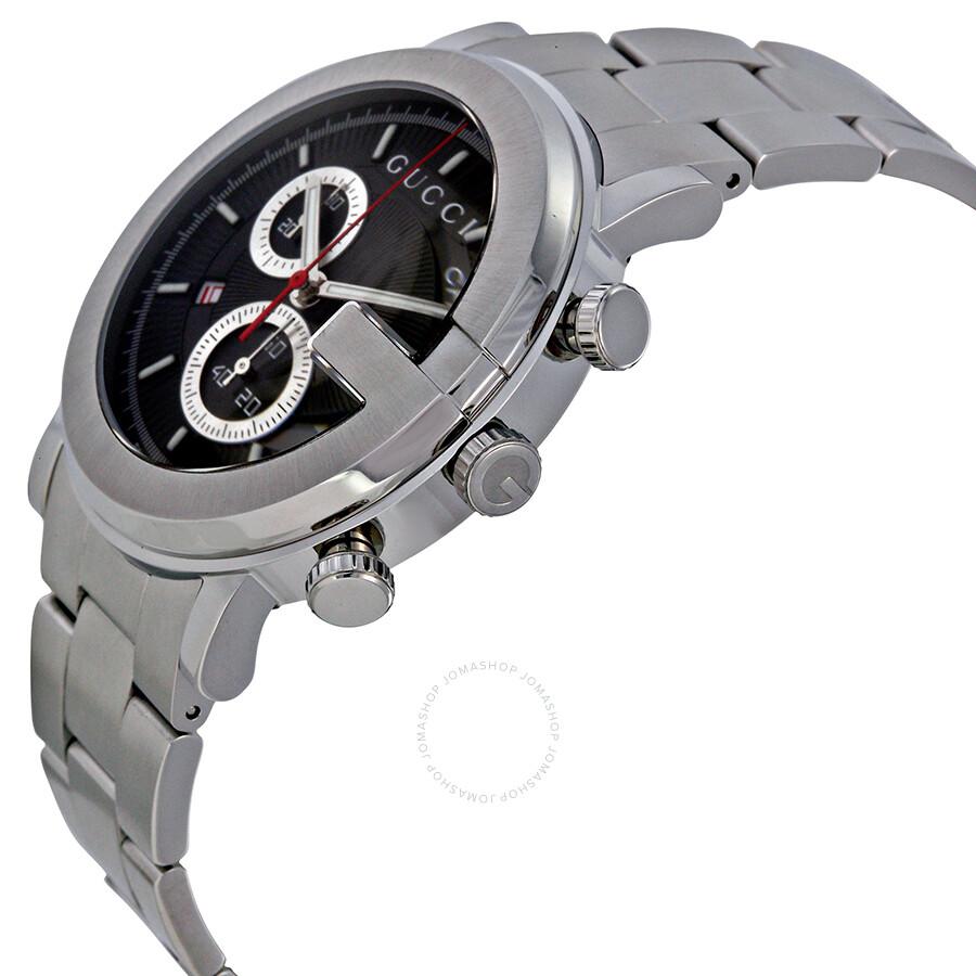 10c632e7a17 Gucci G-Watch 101G Steel Chronograph Men s Watch YA101309 - G-Round ...