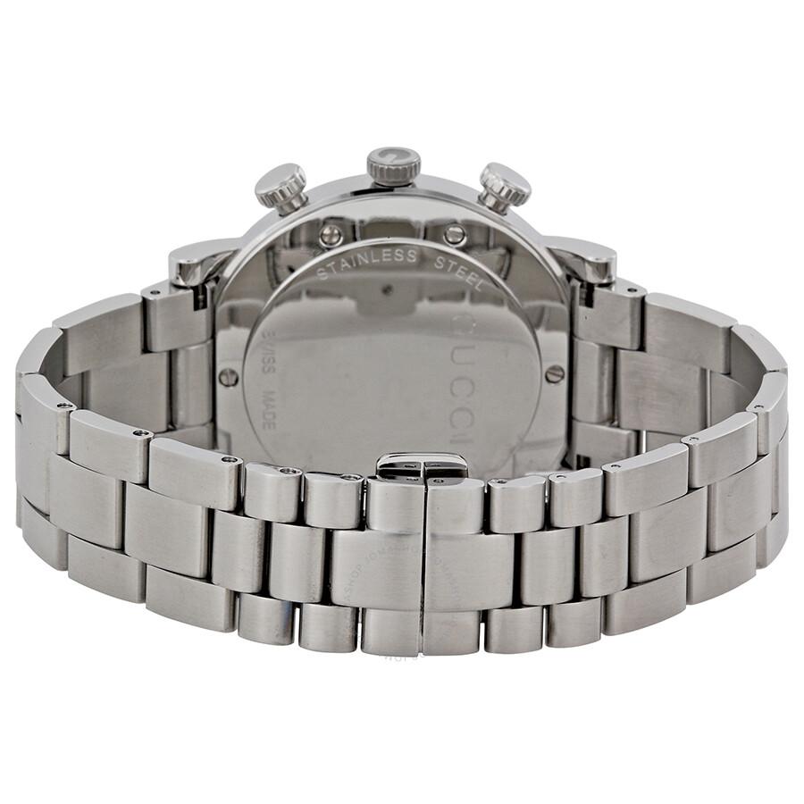 26c6d5454b2 Gucci G-Watch 101G Steel Chronograph Men s Watch YA101309 - G-Round ...