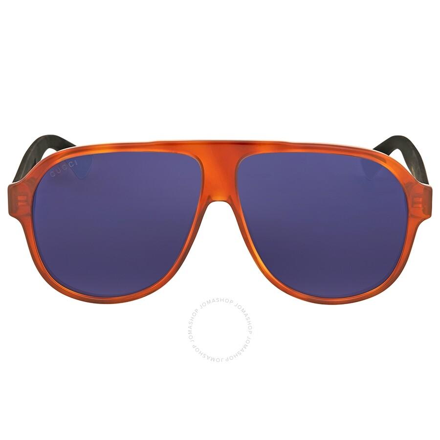 a1f4059e26 Gucci Havana Aviator Sunglasses Gucci Havana Aviator Sunglasses ...
