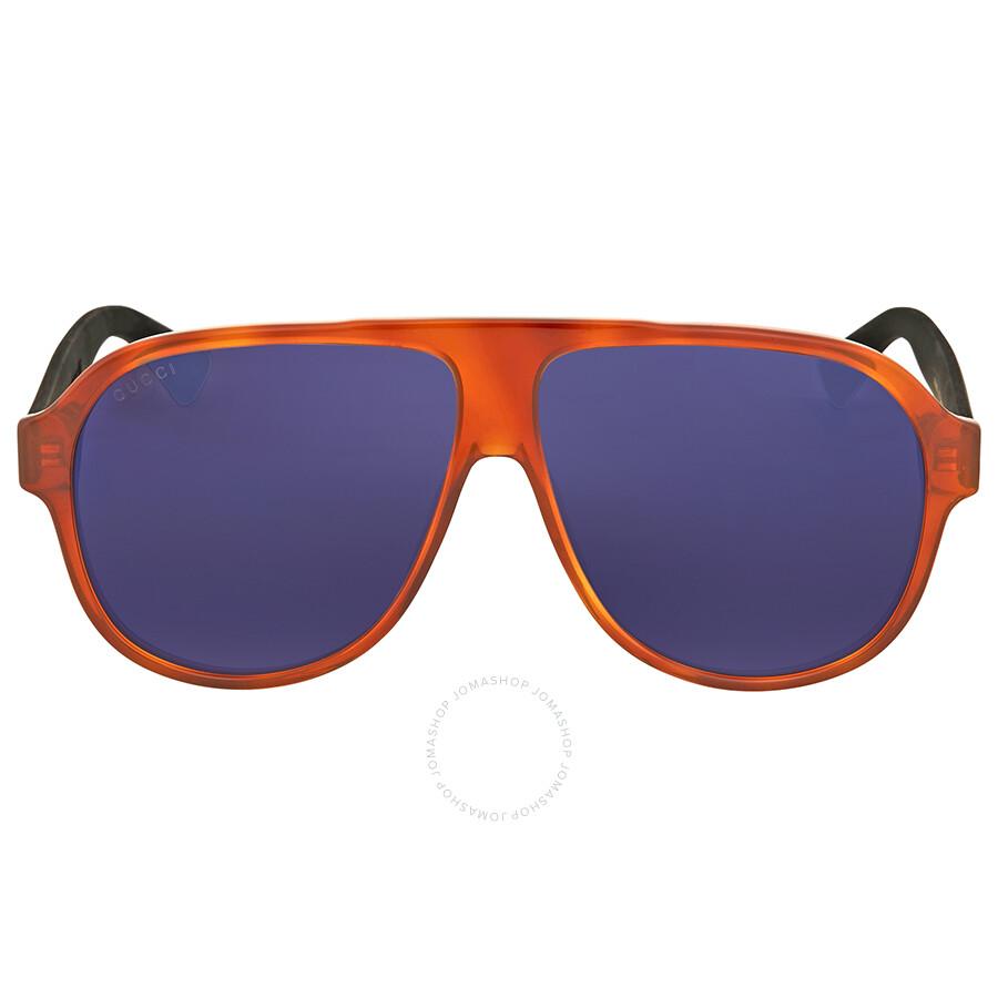 1bc030c6171 Gucci Havana Aviator Sunglasses - Gucci - Sunglasses - Jomashop