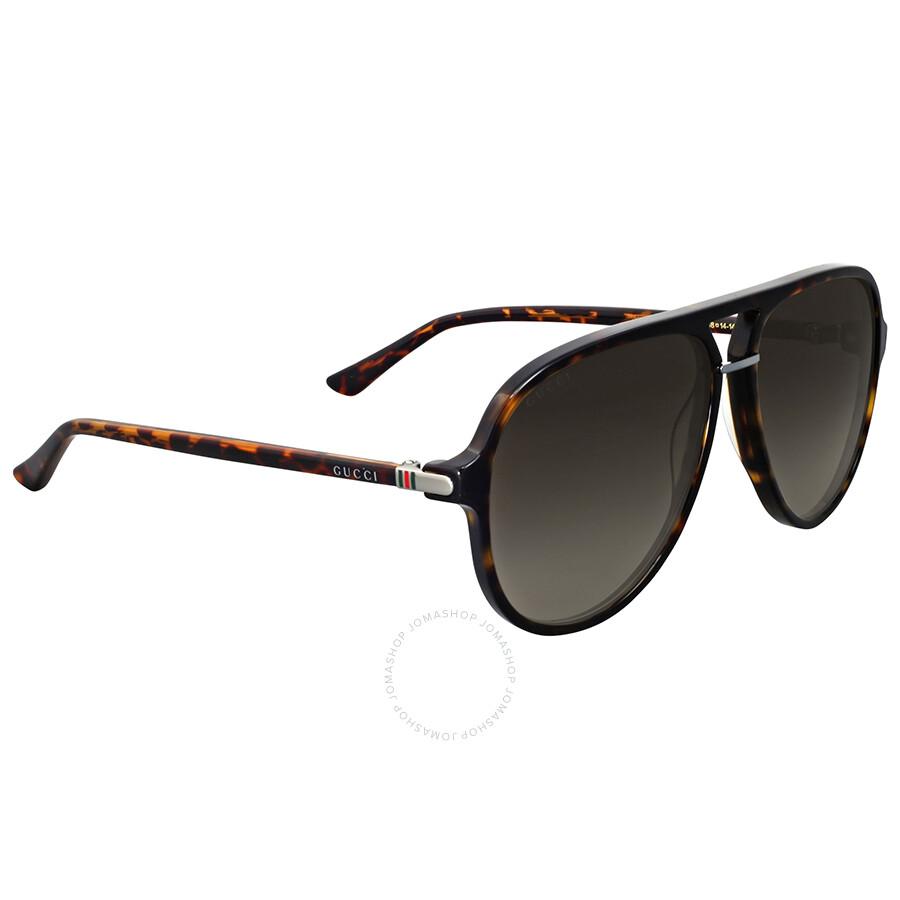 6f8cc95ba210 Gucci Havana Aviator Sunglasses Gucci Havana Aviator Sunglasses ...
