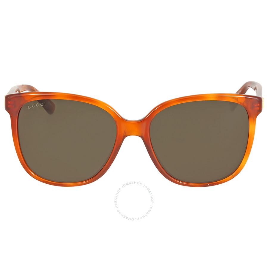 3469ab44298 Gucci Havana Green Sunglases - Gucci - Sunglasses - Jomashop