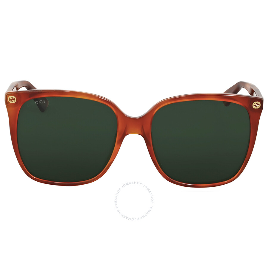 e972cb83d1386 Gucci Havana Square Sunglasses Gucci Havana Square Sunglasses ...