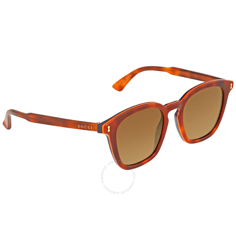 8225fc060c Gucci Havana Square Sunglasses - Gucci - Sunglasses - Jomashop