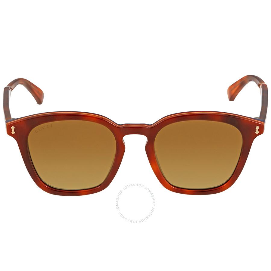 49cdd5c469 Gucci Havana Square Sunglasses Gucci Havana Square Sunglasses ...